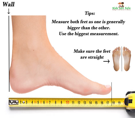 Measuring Little Feet Kids Got Sole